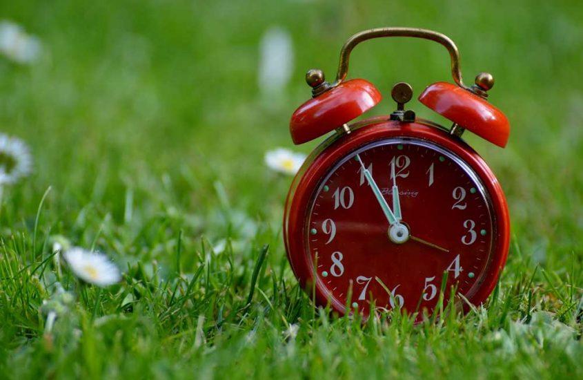 Zeit ist Geld!