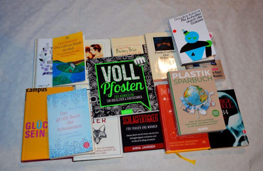#Fundbuch – 15 Bücher – 15 Jahre phase grün