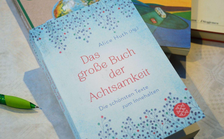 Das Fundbuch »Das große Buch der Achtsamkeit« wurde ausgesetzt und gehört zu unserer Bücheraktion 15 Jahre phase grün