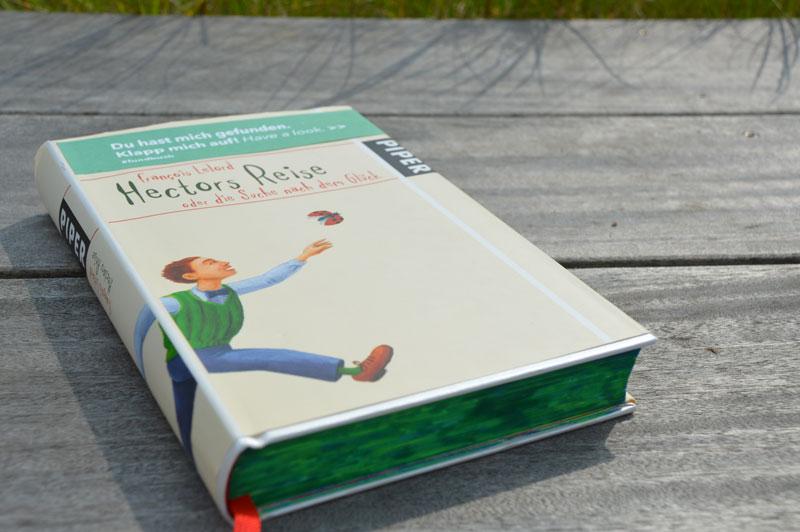 Das Fundbuch »Hectors Reise« wurde ausgesetzt und gehört zu unserer Bücheraktion 15 Jahre phase grün