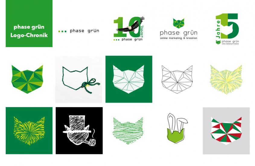 Ist ein Logo nur ein Logo? Die Interpretation von phase grün
