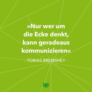 ⤴️➡️ ⤵️➡️ 😊👍🏻 . . . #zitat  #tobiasbremshey #umdieeckedenken #kommunizieren #marketing  #corporatecommunication #CC  #business #innovation #erfolg #success #kommunikation #communication  #Investment #phasegrün #phasegrünfoto #werbeagentur  #Saarland #onlinemarketing #kreation #onlinemarketingkreation