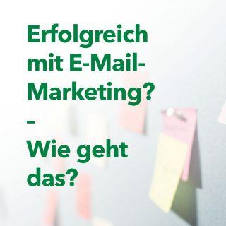 """Obwohl bereits vor Jahren das Sterben von E-Mail-Marketing prognostiziert wurde, solltet Ihr E-Mail-Marketing immer noch in Eurem Marketing-Mix berücksichtigen. Beachtet dabei aber unbedingt unsere Tipps: 💡 Verwendet eine aussagekräftige Betreffzeile 💡 Nutzt einen Call-to-Action-Button 💡 Achtet auf ein rechtssicheres Double-Opt-in Verfahren  Mehr dazu findet Ihr in unserem Blogbeitrag """"Was ist E-Mail-Marketing und wozu ist es geeignet?"""".  . . . #email #marketing #emailmarketing #marketingmix #tipps #advertising #strategie #werbung #strategy #produkte #products #neukunden #verkauf #sale #newcustomers #grün #phasegrün #werbeagentur #Saarland #onlinemarketing #kreation #onlinemarketingkreation"""