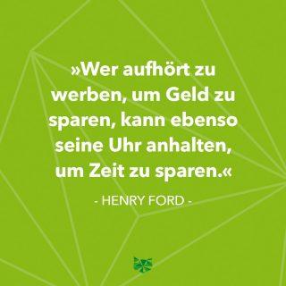 🤔 . . . #zitat  #henryford #marketing #geld #investition #Investment #unternehmen #company #werbung #advertising #phasegrün #phasegrünfoto #werbeagentur  #Saarland #onlinemarketing #kreation #onlinemarketingkreation